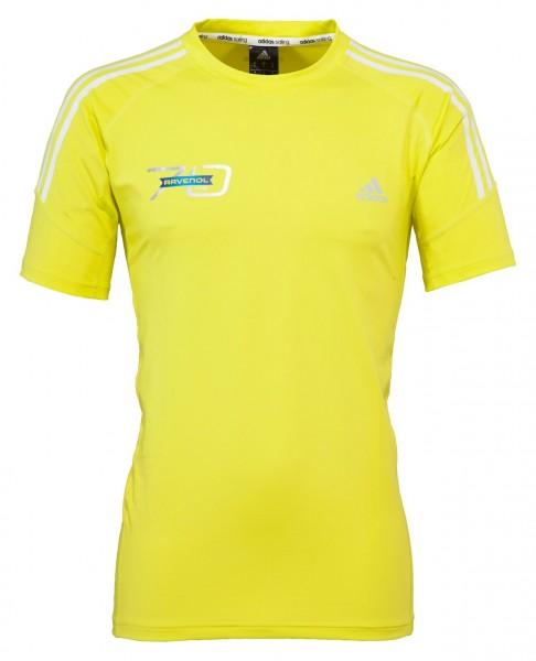 ADIDAS T-Shirt Herren gelb