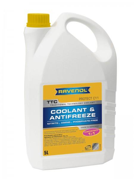 RAVENOL TTC - Protect C11 Concentrate (Kühlerfrostschutz Konzentrat) - 5 Liter
