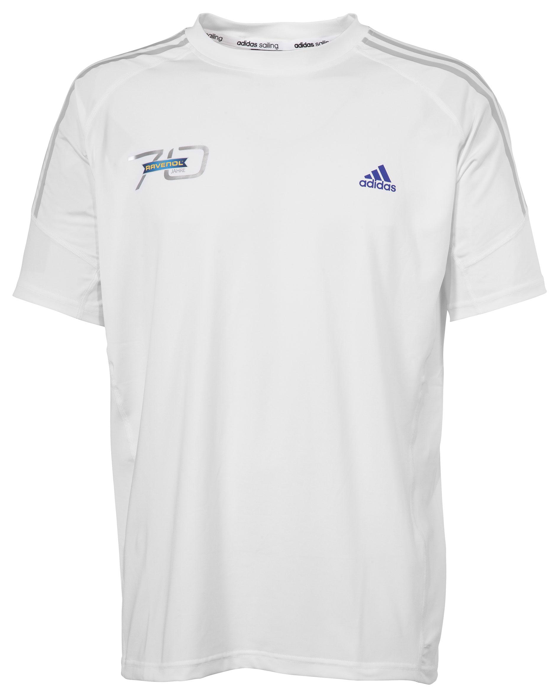 44054a34316b22 ADIDAS T-Shirt weiß mit Ravenol-Logo direkt im Ravenol Shop kaufen