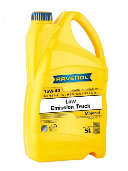 RAVENOL Low Emission Truck SAE 15W-40 - 5 Liter