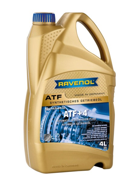 RAVENOL ATF+4® Fluid - 4 Liter