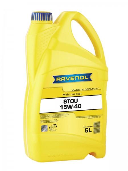 RAVENOL STOU SAE 15W-40 - 5 Liter