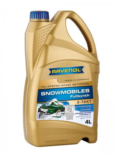 RAVENOL SNOWMOBILES Fullsynth. 2-Takt - 4 Liter