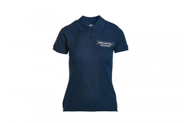 RAVENOL Motorsport Poloshirt Damen dunkelblau