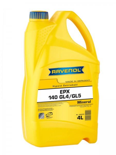 RAVENOL Getriebeöl EPX SAE 140 GL-4 / GL-5 - 4 Liter
