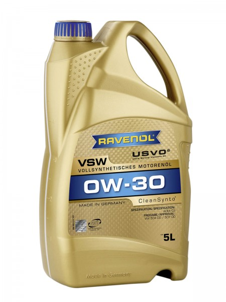 RAVENOL VSW SAE 0W-30 - 5 Liter