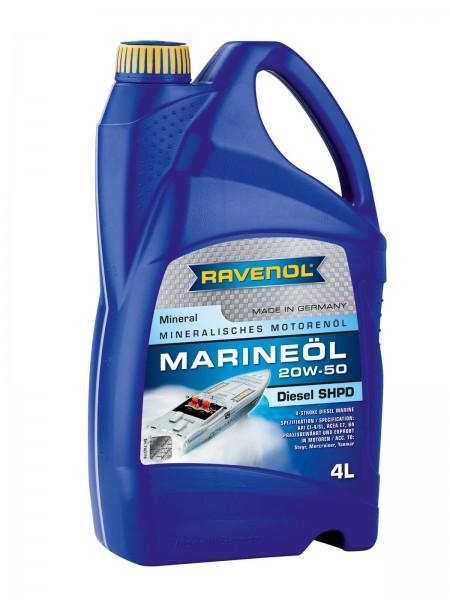 RAVENOL Marineöl Diesel SHPD SAE 20W-50 - 4 Liter