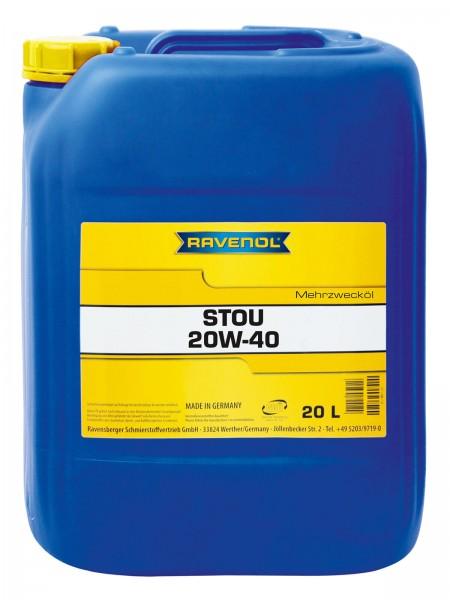 RAVENOL STOU SAE 20W-40 - 20 Liter