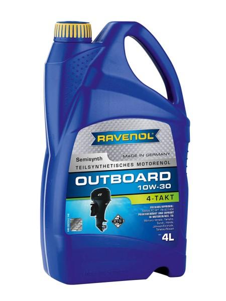 RAVENOL Outboardoel 4T SAE 10W-30 - 4 Liter