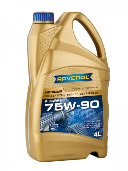 RAVENOL Motogear SAE 75W-90 GL-4 - 4 Liter