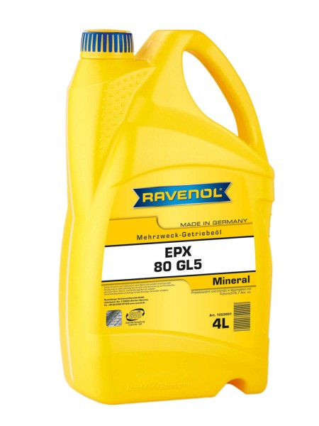 RAVENOL Getriebeöl EPX SAE 80 GL-5 - 4 Liter