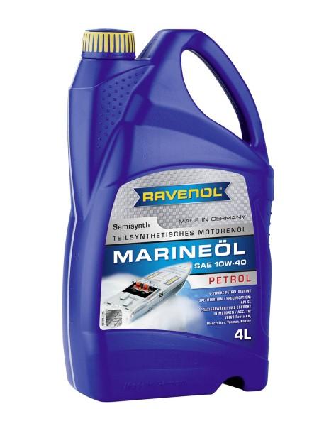 RAVENOL Marineöl Petrol SAE 10W-40 - 4 Liter