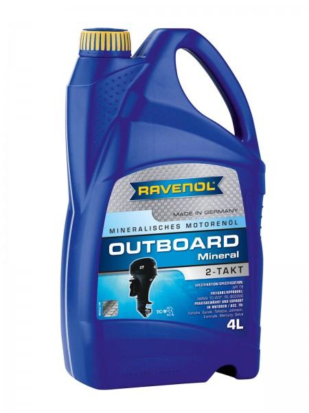 RAVENOL Outboard-Öl 2-Takt Mineral - 4 Liter