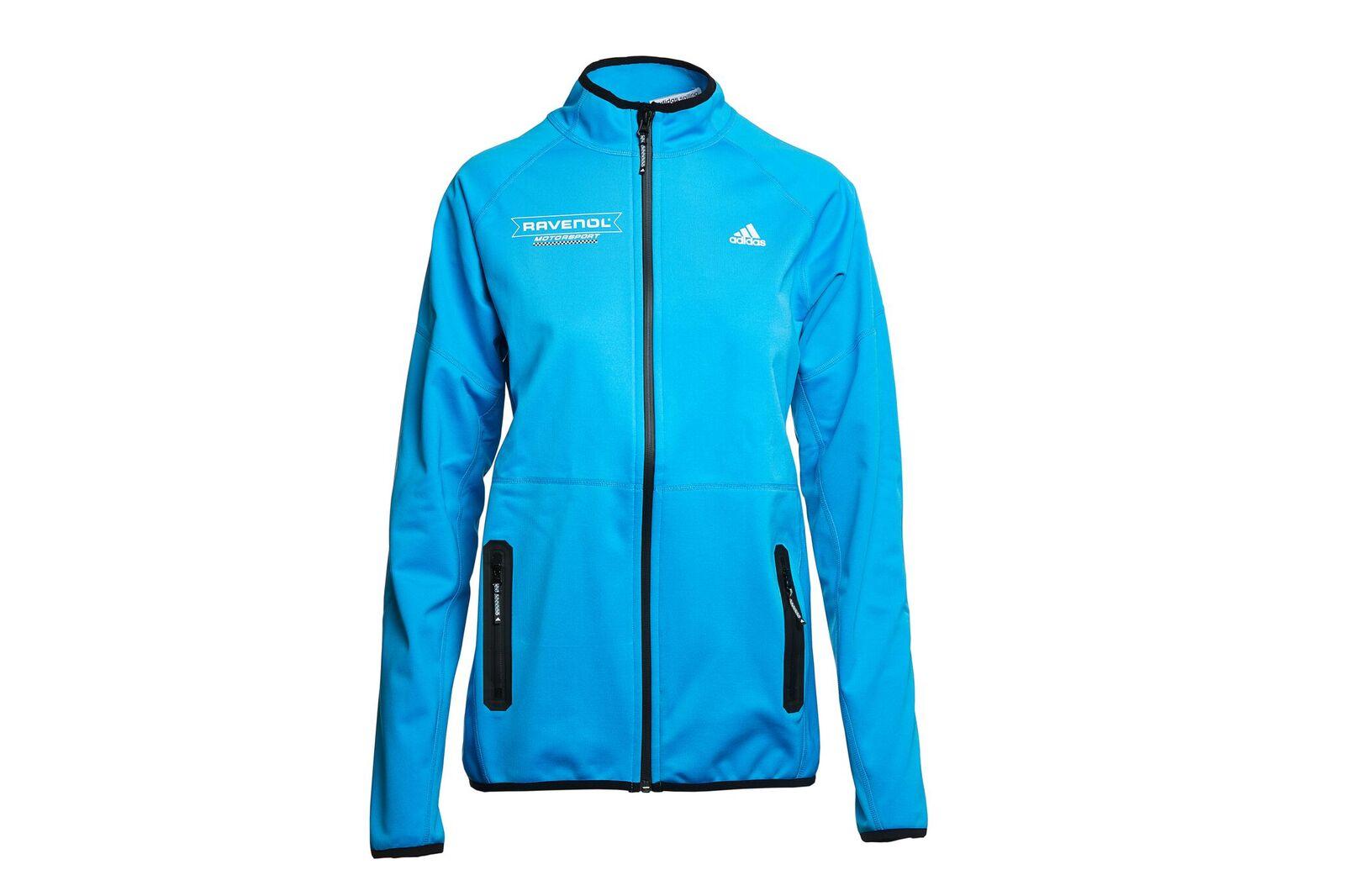 be9336cfee59 ADIDAS 3-Lagen Softshelljacke Damen hellblau im Ravenol Shop kaufen