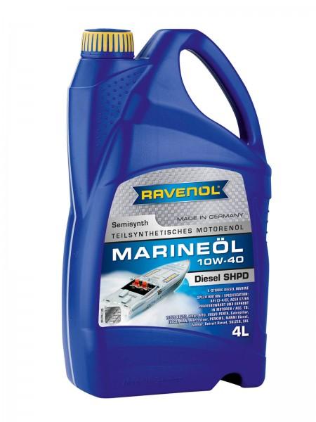 RAVENOL Marineöl Diesel SHPD SAE 10W-40 - 4 Liter