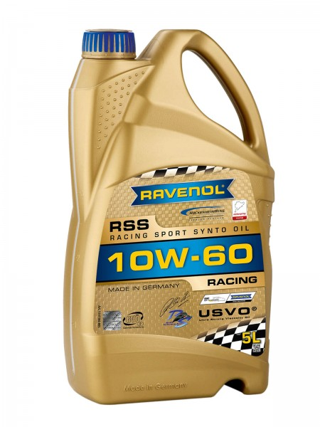 RAVENOL RSS SAE 10W-60 - 5 Liter