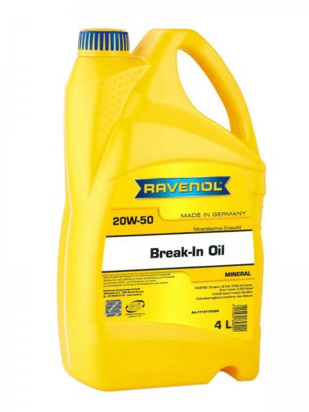 RAVENOL Break-In Oil SAE 20W-50 - 4 Liter