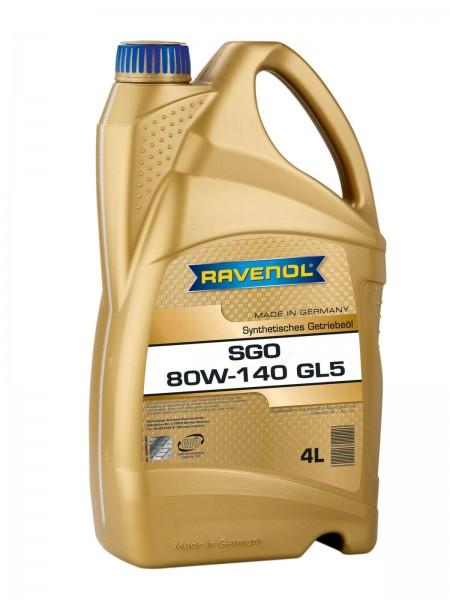 RAVENOL SGO SAE 80W-140 GL-5 - 4 Liter