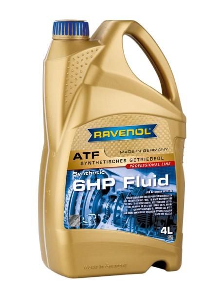 RAVENOL ATF 6HP Fluid - 4 Liter