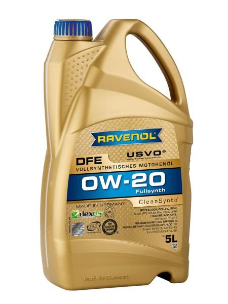 RAVENOL DFE SAE 0W-20 - 5 Liter