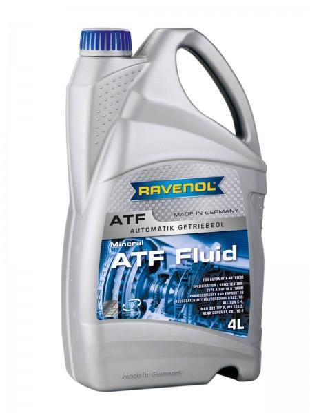 RAVENOL ATF Fluid (Type A Suffix A) - 4 Liter