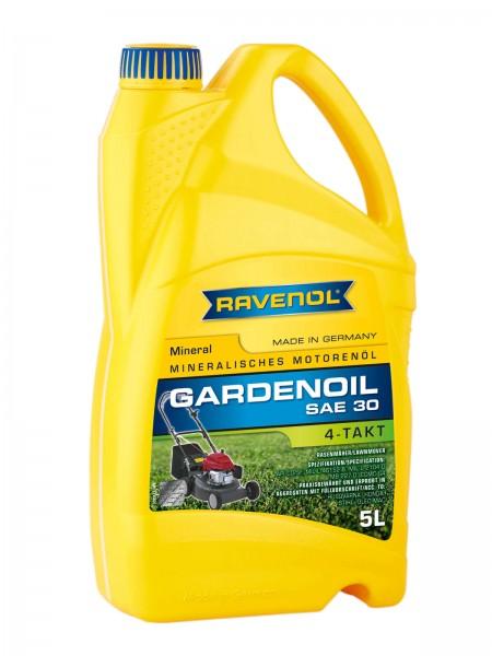 RAVENOL 4-Takt Gardenoil HD 30/Rasenmäheröl HD 30 - 5 Liter