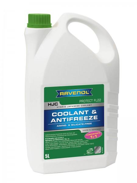 RAVENOL HJC - Protect FL22 Concentrate (Kühlerfrostschutz Konzentrat) - 5 Liter