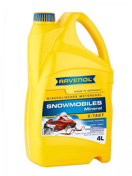 RAVENOL Snowmobiles Mineral 2-Takt - 4 Liter