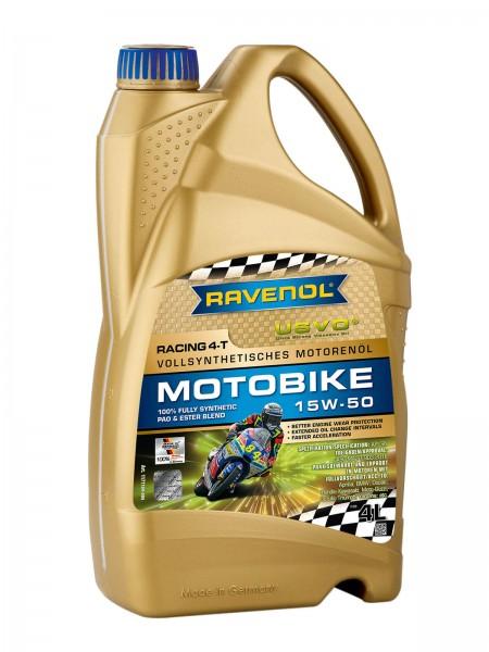 RAVENOL Racing 4-T Motobike SAE 15W-50 - 4 Liter