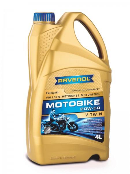 RAVENOL Motobike V-Twin SAE 20W-50 Fullsynth - 4 Liter