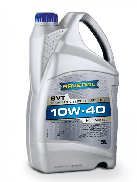 RAVENOL SVT Standard Viscosity Turbo Oil SAE 10W-40 - 5 Liter