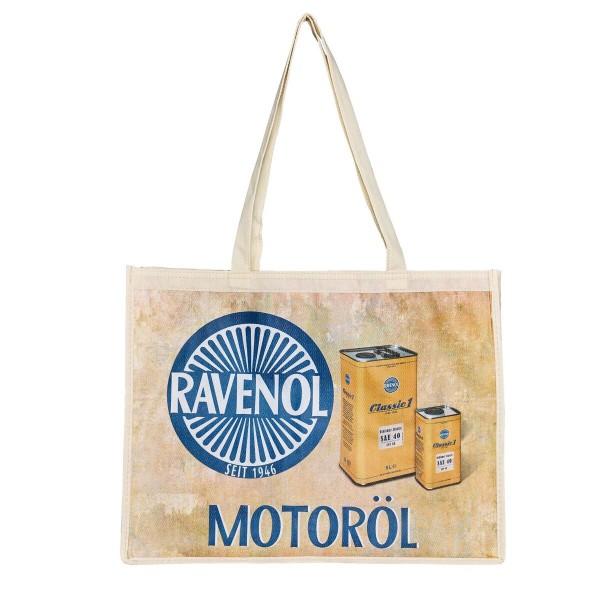 RAVENOL Tragetasche Oldtimer Rückseite
