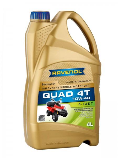 RAVENOL Quad 4T SAE 10W-40 - 4 Liter