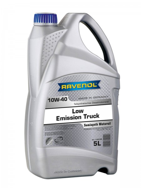 RAVENOL Low Emission Truck SAE 10W-40 - 5 Liter