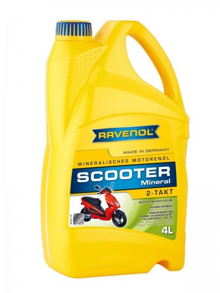 RAVENOL Scooter 2-Takt Mineral - 4 Liter