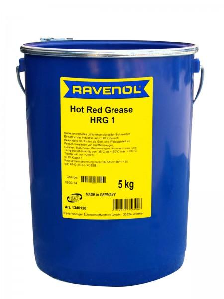 RAVENOL Hot Red Grease HRG 1 - 5kg