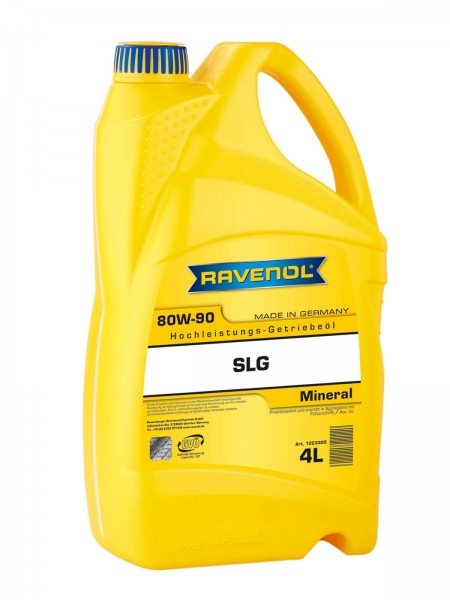 RAVENOL Getriebeöl SLG SAE 80W-90 GL4/GL5 - 4 Liter