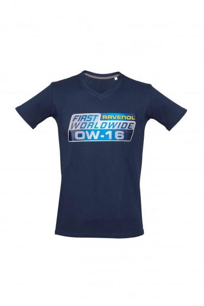 RAVENOL T-Shirt 0W-16, Farbe: marine