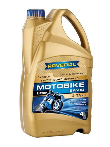 RAVENOL Motobike 4-T Ester SAE 5W-30 - 4 Liter