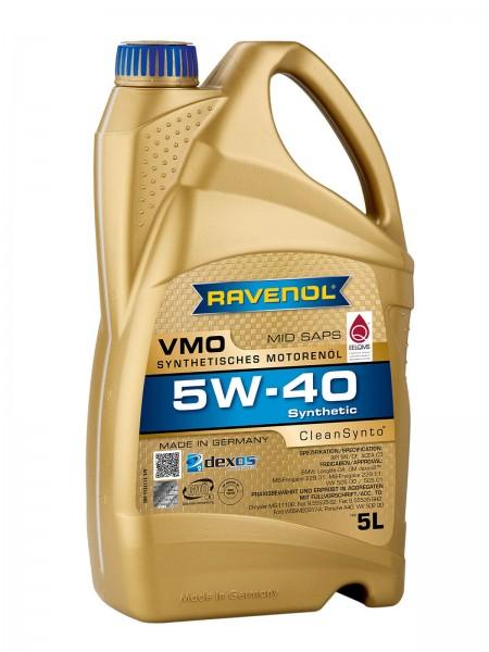 RAVENOL VMO SAE 5W-40 - 5 Liter
