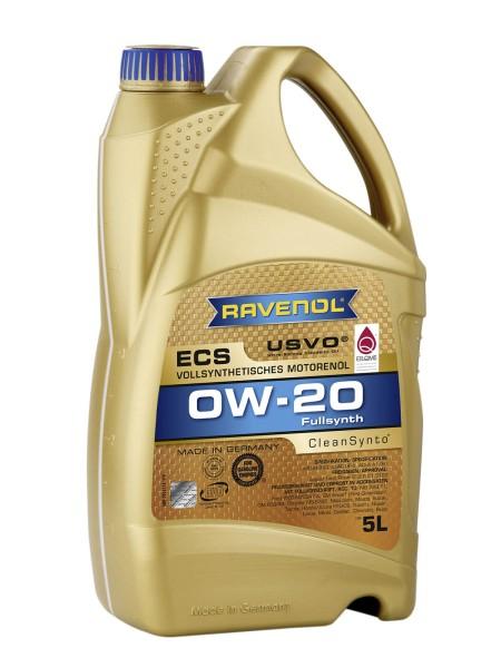 RAVENOL Eco Synth ECS SAE 0W-20 - 5 Liter