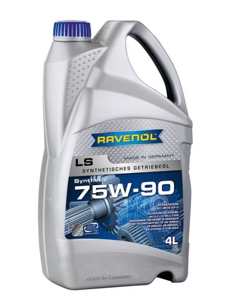 RAVENOL Getriebeöl LS 75W-90 GL-5 - 4 Liter