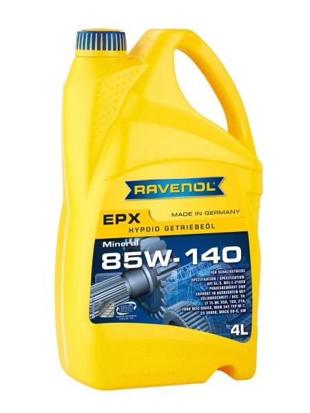 RAVENOL Hypoid EPX Getriebeöl SAE 85W-140 GL-5 - 4 Liter