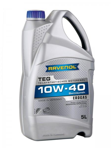 RAVENOL TEG SAE 10W-40 für Erdgasmotoren - 5 Liter