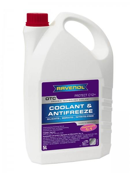 RAVENOL OTC - Protect C12+ Concentrate (Kühlerfrostschutz Konzentrat) - 5 Liter