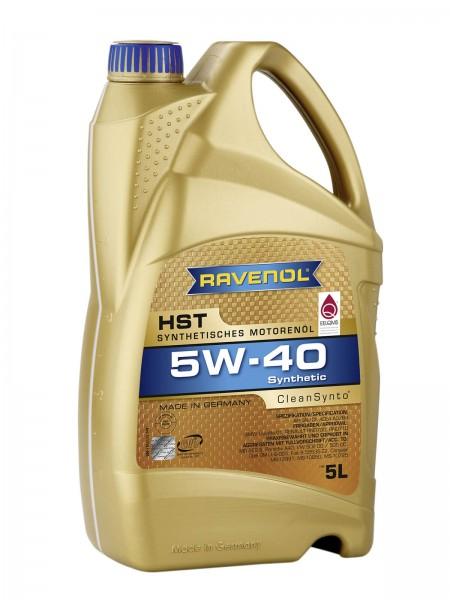 RAVENOL HST SAE 5W-40 - 5 Liter