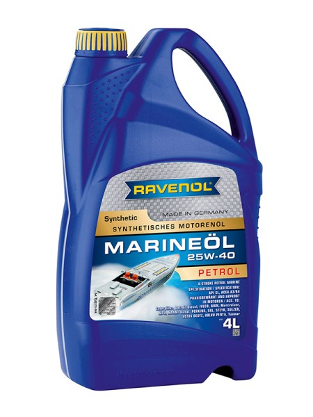 RAVENOL Marineöl Petrol SAE 25W-40 Synthetic - 4 Liter