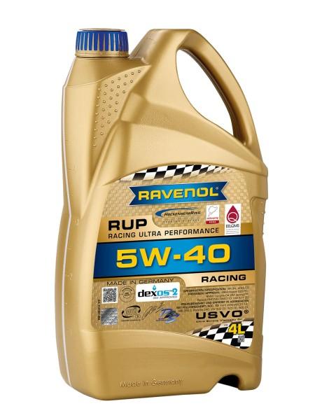 RAVENOL RUP Racing Ultra Performance SAE 5W-40 - 4 Liter