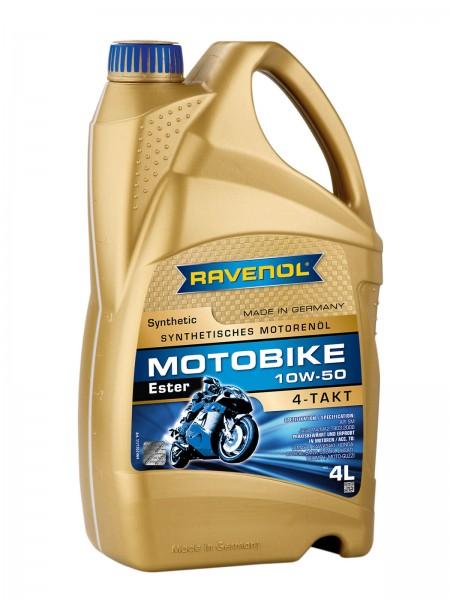 RAVENOL Motobike 4-T Ester SAE 10W-50 - 4 Liter