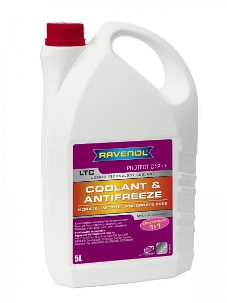 RAVENOL LTC - Protect C12++ Concentrate (Kühlerfrostschutz Konzentrat) - 5 Liter